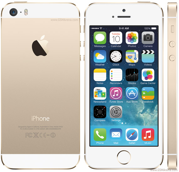 iphone 5s gold , apple center đà nẵng