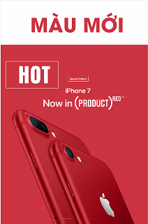 iphone 7 plus red special edition da nang , đà nẵng apple center