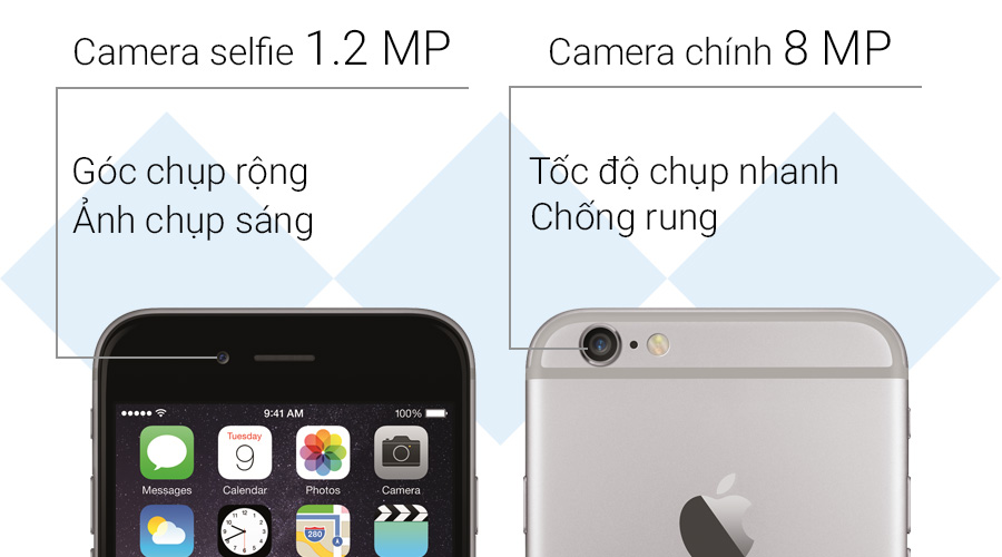 camera iphone 6 plus , Apple center , iphone 6 / 6 plus đà nẵng ,